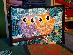 Tablet PC Bag #owls