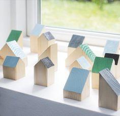 Sweet DIY houses