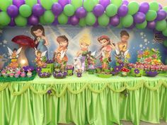 Tinkerbell & Fairies Birthday Party Ideas | Photo 24 of 24 | Catch My Party