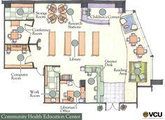 Uc Davis Medical Center Floor Plan Education Center, Health Education, Office Floor Plan, Healthcare Design, Science Fair, Storage Room, Plan Design, Floor Plans, Layout
