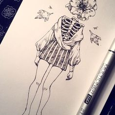 We're almost a week in October and I have not missed a day, you … - ART Drawing Dark Art Drawings, Pencil Art Drawings, Art Drawings Sketches, Cool Drawings, Pretty Art, Cute Art, Aesthetic Art, Art Inspo, Art Reference