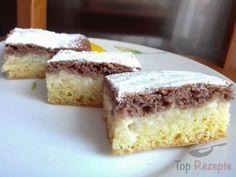 """Apfel-Pudding-kuchen """"Tag und Nacht""""   Top-Rezepte.de"""