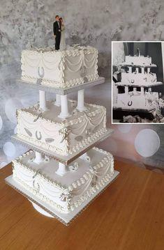 Best Vanilla Cake Recipe, Wilton Cakes, Cake Ideas, Cake Recipes, Wedding Cakes, Decorative Boxes, Baking, Beautiful, Vintage