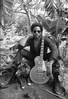 ▀ 'I'm half Jewish, I'm half black, I look in-between. I dress funny. I play all these different styles of music on one record. It's like, what is he doing?' Lenny Kravitz