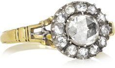 Olivia Collings 1860s 18-karat gold diamond ring