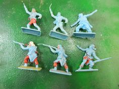 Crescent made in England Plastic Toy Soldiers French Legionaires x 6 in Toys, Hobbies, Toy Soldiers | eBay!