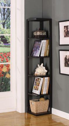"64"" Corner Bookcase"