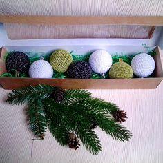Ручная работа Набор елочных шаров