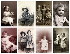 A special COLLAGE Image for You! Free images for You to use in Your Art!