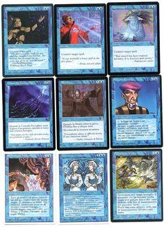 Gruppo di 9 carte di Magic a 25 Euro, spedizione compresa (ed altre comuni e non comuni anni '90 in omaggio)... info: gattostanco@libero.it