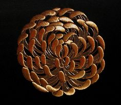 Japanese Embroidery - chrysanthemum