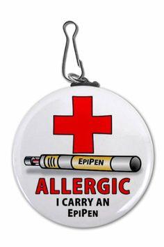 ALLERGIC I Carry an EPIPEN Medical Alert 2.25 inch Clip Tag Creative Clam,http://www.amazon.com/dp/B004RE9YFW/ref=cm_sw_r_pi_dp_sXIotb0ZSQQS8JSN