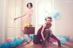 """Dolls"" editorial for fART Magazine  by Michela Riva"