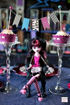 | How to Host a Ghouls Rule Monster High Party! | http://soiree-eventdesign.com