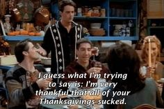 "Every ""Friends"" Thanksgiving Episode, Ranked From Worst To Best (via BuzzFeed)"