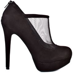 3d68679c4ec1 Jessica Simpson s Greeta brings you a black sexy mesh upper with suede  covering the rest of this style and on the 4 inch heel and ...