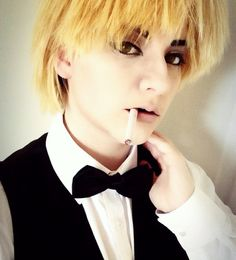 (Cigarette is fake) I'm so happy with these Shizuo pictures! I'm currently laying in bed listening to classical music and reading. Had a crazy night last night and now I'm exhausted.  #shizuo #shizuoheiwajima #shizuocosplay #shizuoheiwajimacosplay #durarara #durararacosplay #drrr #drrrcosplay #anime #animecosplay #manga #mangacosplay #otaku #japan #ikebukuro #izaya #izayaorihara #shizaya #wig #makeup #makeupartist #cosplay #cosplayer #crossplay #crossplayer #costest #closetcosplay