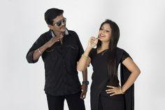 Hero and Heroine from the film Saravanan Engira Surya