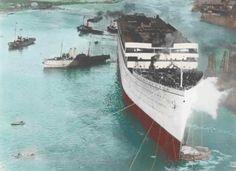 rms olympic in color - Google Search