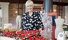 A knockout poppy print summer dress … Lorna in The Great British Sewing Bee. Photograph: Charlotte M
