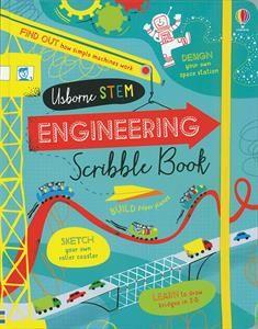 """""""Engineering scribble book"""" at Usborne Children's Books Stem For Kids, Logic Puzzles, Project Based Learning, Science Books, Book Activities, Activity Books, Fun Math, Scribble, Learn To Draw"""