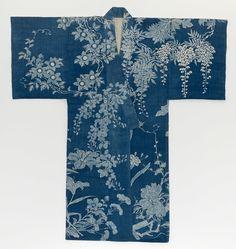 Unknown Artist, Summer kimono, Yukata , 1868-1912, National Gallery of Victoria