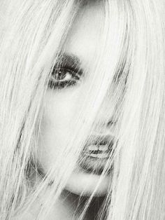 """Alguien nos mira"" - Daphne Groeneveld by Txema Yeste for Harper's Bazaar Spain, April 2013"