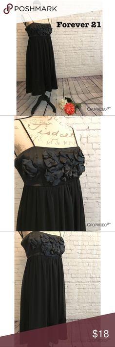 👗 Forever 21 black cocktail dress, size small 👗 Forever 21 black cocktail dress, size small, lined, adorable! EUC Forever 21 Dresses