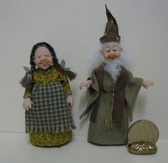 24th Scale Witch & Wizard