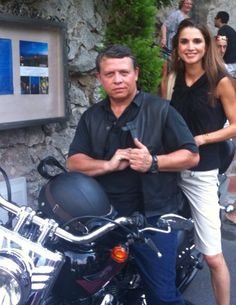 King Abdallah & Queen Rania