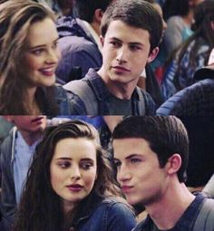 Clay and Hannah - 13 Reasons Why
