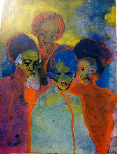 Emine Nolde - Men and Women