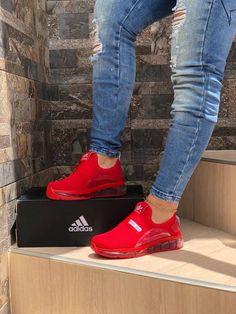 Cute Sneakers Shoes Sneakers Air Max Sneakers Hot Shoes Adidas Sneakers Look Com Tenis Nike Air Vapormax Sneaker Boots Nike Shox New Shoes, Women's Shoes, Me Too Shoes, Shoe Boots, Shoes Sneakers, Shoes Tennis, Tennis Dress, Red Shoes Outfit, Shoes Jordans