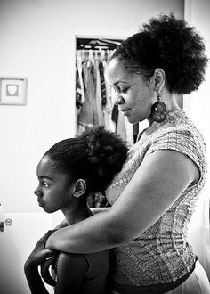 Everything she knows about herself, she will learn from watching you... #blackfamilies
