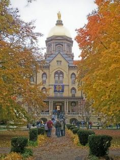 Notre Dame in the fall...nothing beats it