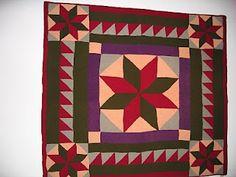 Antique Welsh wool quilt