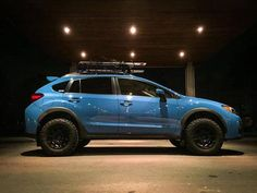 Brand: Subaru Model: CrosstrekYear: Hyper Blue Modifications: Lift kit: LP Aventure Tires: BFGoodrich All Terrain T/A Method Racing Wheels VTSpec basket: Yakima LoadwarriorBike rack: Thule Sidearm Acces Subaru Sport, Subaru Rally, Subaru Cars, Rally Car, Volkswagen Amarok, Vw Tiguan, Volkswagen Golf, Subaru Impreza, Subaru Forester