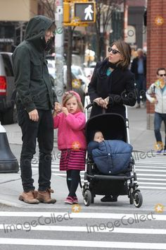 Thomas Mars Picture - New York City  2nd April 2011Sofia Coppola boyfriend Thomas Mars and daughters Romy Mars (4 years old) and Cosima Mars (9 months old) walking in SOHOPhoto by Adam Nemser-PHOTOlinknet