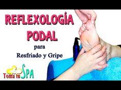 REFLEXOLOGÍA PODAL PARA RESFRIADOS Y GRIPE