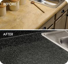 Rust Oleum Countertop Transformations So Awesome And Inexpensive When Compared To