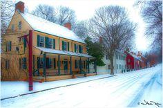 Salem Tavern ~ Old Salem, NC ~ just lovely