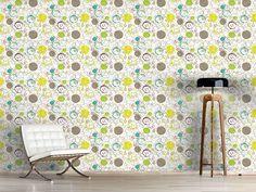 Design #Tapete Frühling Zieht Kreise