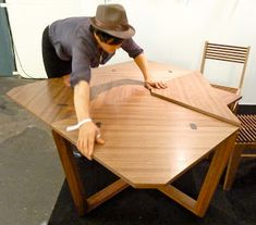 Mrs Peabod - A designers Inspiration board: October 2012 - a foldable table