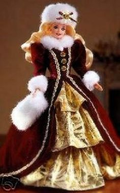 happy holiday barbie 1996
