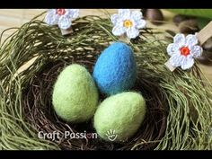 Wet Felting Easter Eggs - Felting Tutorial | Craft Passion – Page 2 of 2