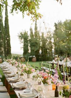 Chic Boho Destination Wedding in Tuscany