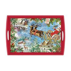 Christmas Joy Decoupage Wooden Tray. PRE ORDER now for the fabulous tray. $50