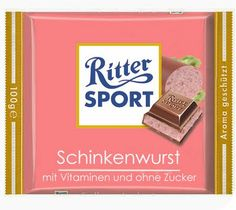 Ritter Sport the salsicha... deve ser de comer e chorar por menos :D: Wurstbilder