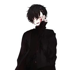 Boy with blood on his cheeks Dark Anime Guys, Hot Anime Boy, Cute Anime Guys, Anime Boys, Manga Anime, Manga Boy, Anime Art, Anime Lindo, Estilo Anime