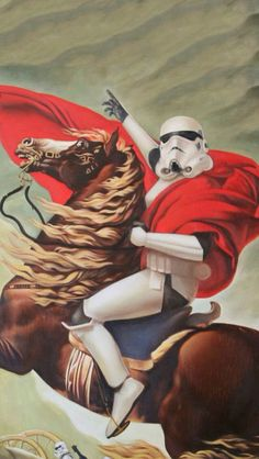 Storm Trooper on a horse your argument is invalid.